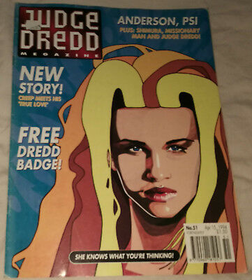 Judge Dredd Megazine - Issue 51 - 15th April 1994 - Comic