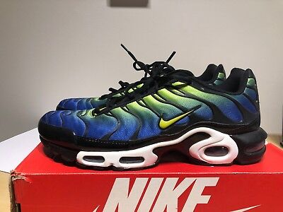 new product df71b 33775 nike air max plus hyper blue cyber black