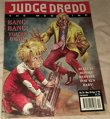 Judge Dredd Megazine - Issue 24 - 20th March 1993 - Comic