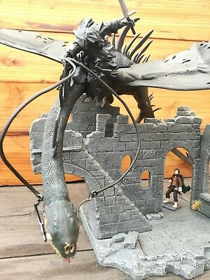 Herr der Ringe / Hobbit - Osgiliath Ruins - Fell Beast- Play Along Set - Tolkien