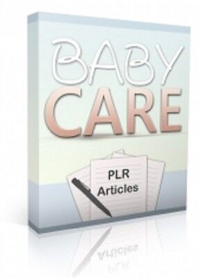 10 Baby Care PLR Articles PDF eBook (Text files) with Master Resell Rights