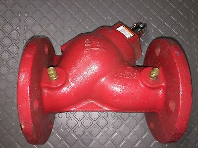 B&G 132122 - 3DS 2-1/2S Flanged Cast Iron Triple-Duty Valve w/Soft Seat 2-12""