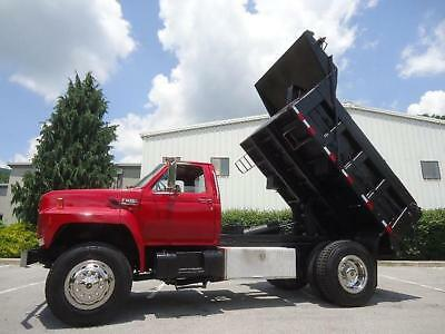 Ford F800 Single Axle Dump Truck 10 Ft Bed 7.8 Turbo Diesel
