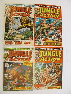 Jungle Action Complete set 1 to 24 (1972-76) - Featuring the Black Panther!!!!!