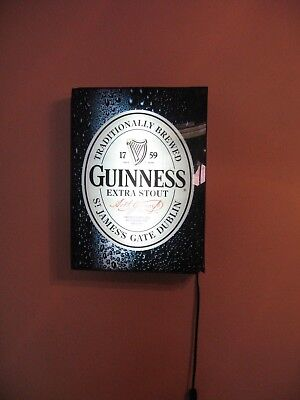 Guinness Extra Stout Beer Light Sign