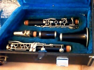 Vintage Le Blanc Professional Clarinet Early 1950's Symphonie Model