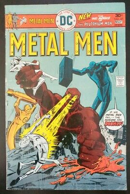 METAL MEN #45 (1976 DC Comics) ~ LOW GRADE Book