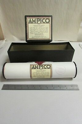 Vintage Ampico Piano Music Roll # 100935 Dance Music Program # 11 With Box