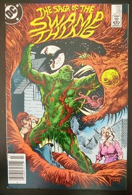 The SAGA of The SWAMP THING #26 (1984 DC Comics) ~ VG Book
