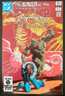 The SAGA of The SWAMP THING #17 (1983 DC Comics) ~ FN/VF Book
