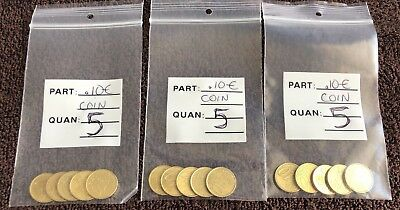 15 X 10 Cent Euro € Coins Lot***Free Shipping***