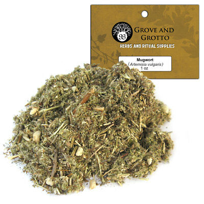 Mugwort 1 oz Package Ritual Herb Dream Weed ORGANIC C/S by Grove and Grotto