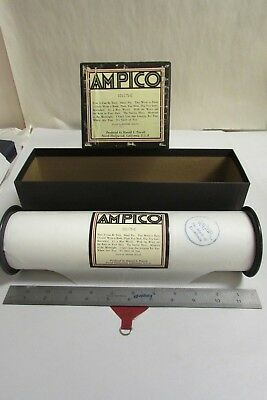 Vintage Ampico Piano Music Roll # 101175-E With Box