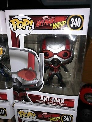 Funko Pop! MARVEL Ant-Man and The Wasp - ANT-MAN #340