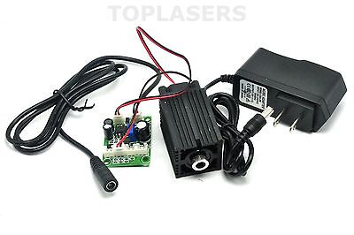 Focusable 180mW 635nm 638nm Orange Red Laser Module Dot Diode Lazers w 12V Power