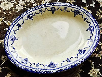 """Superb Quality Large Heavy Antique Victorian 16""""/41cm English Ironstone Charger"""