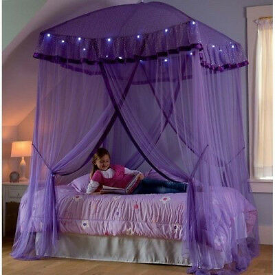 Sparkling Lights Lighted Canopy Bower For Kid New And Free Shipping 100% & SPARKLING LIGHTS PRINCESS Canopy Bedroom - $40.00 | PicClick