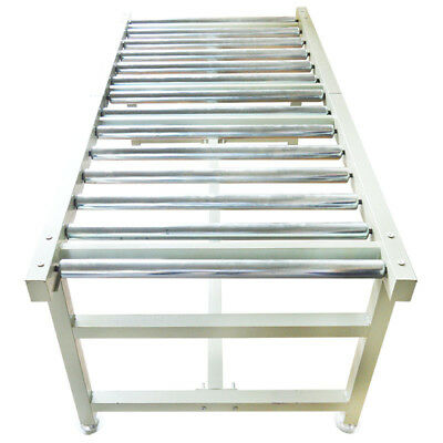 Manual Stainless Steel Gravity Roller Table Conveyor for Loading