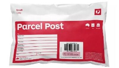 10 x 500g Auspost Parcel Post Regular Satchels - Use PENNY5 To Get 5% Off