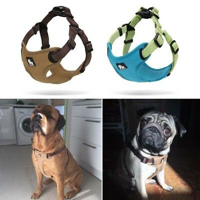 Truelove Reflective No Pull Dog Harness Vest Padded Comfortable Outdoor Pet Gear