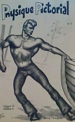 Physique Pictorial Volume 15 number 3 1966 gay interest Magazine
