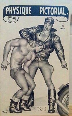 Tom of Finland- Physique Pictorial volume 13 number 4 gay interest
