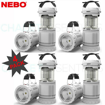 NEBO Z-BUG 2 PACK MOSQUITO ZAPPER LED LANTERN SPOTLIGHT LIGHT INDOOR OUTDOOR 8