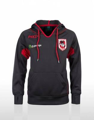 St George Illawarra Dragons 2014 Nrl Mens Performance Hoody New With Tags