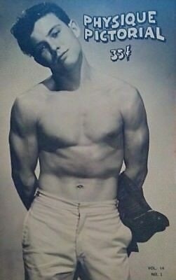 Physique Pictorial Volume 14 number 1 1964 gay interest magazine