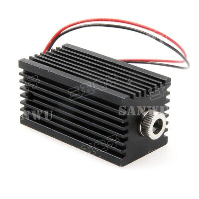 Adjustable Focusable Dot 100mW 980nm IR Infra-Red Laser Module w 12mm Heat Sink
