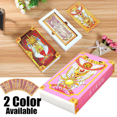 Cardcaptor Sakura Tarot Clow Cards Deck Vintage Box Future Telling Game 56 Cards