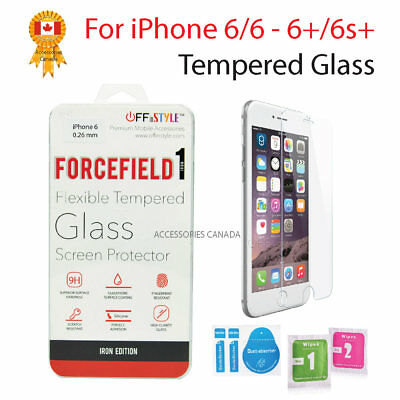 For Apple iPhone 6 & 6s iPhone 6+ & 6s+  Premium Tempered Glass Screen Protector