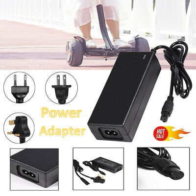 42V 2A Battery Power Adapter for 2 Wheel Electric Balance Scooter Replacement