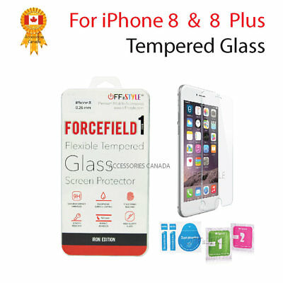 For Apple iPhone 8 or iPhone 8 Plus -  Premium Tempered Glass Screen Protector