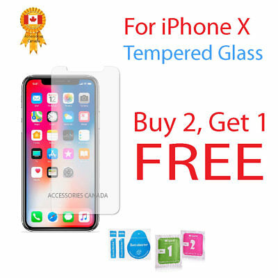 Touch Sensitivity & Clarity Premium Tempered Glass Screen Protector For iPhone X