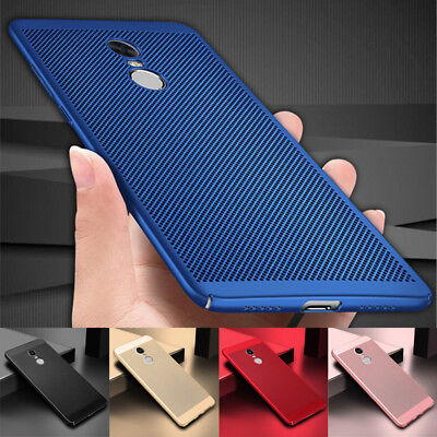 For Xiaomi Redmi Note 4/4X 5A 6 S2 Mi A1 A2 Breathable Anti-Hot Hard Case Cover