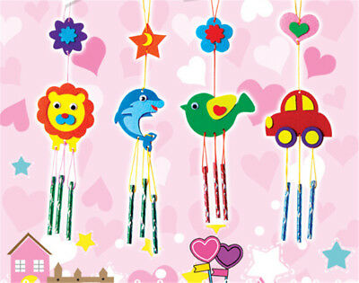 1 Pcs DIY Campanula Wind Chime Kids Manual Arts and Crafts Toys for Kids SRAU