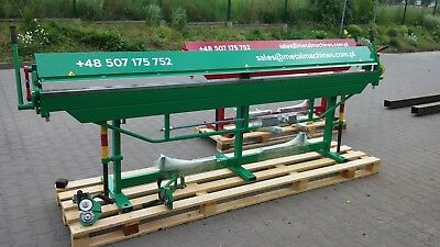 Sheet Metal Folder/ Bender / Bending Brake 3100mm + Roller Cutter - see VIDEO !!