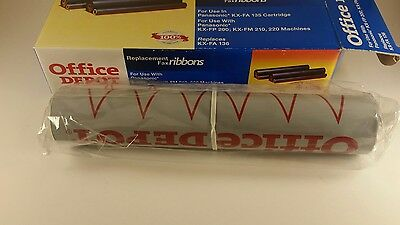 Office Depot Replacement Fax Ribbon - replaces KX-FA 136 1 Replacement NEW