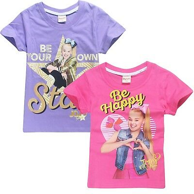 JOJO SIWA Girls summer t-shirt shirts tee top size 3-12 au stock xmas