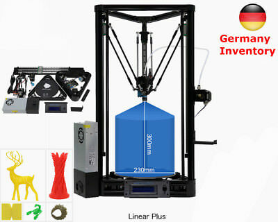 ANYCUBIC Linear PLUS Kossel 3D Printer Auto-Leveling Heated bed *DE Shipping*