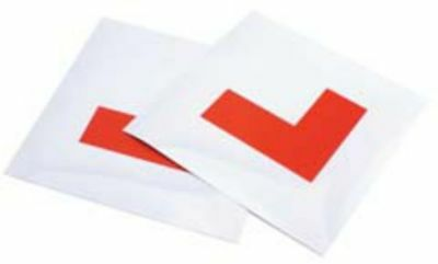 AA Car Essentials 10071 L Plates Magnetic For Learner Drivers Reusable