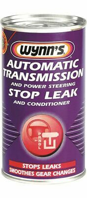 Wynns 64558 Automatic Gearbox Power Steering Stop Leak 325ml Additive Treatment