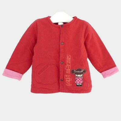 Gilet rouge ORCHESTRA 18 mois (Dep116 17909)