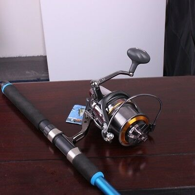 12+1BB Fish Rod Fishing Wheel Reel Spinning Spool Sea Line Gear Fishing 12000#