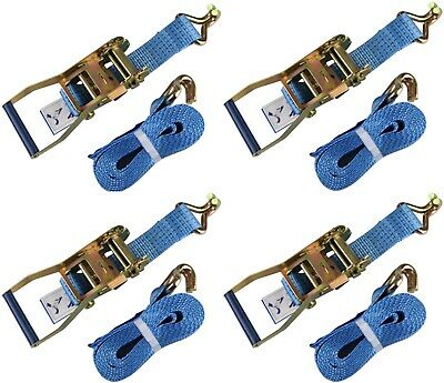 4 Ratchet Strap Lorry Strap - 4 metre - 50mm - 5 ton Load