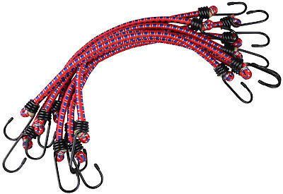 8 Bungee Cords Elastic Bungy Hook - 18 inch