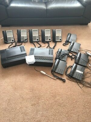 NEC SL1100 Telephone System Package With 11 Handsets.