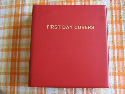 First Day Cover Album & 53 Inserts / Sheets. Will hold 212 FDC's.