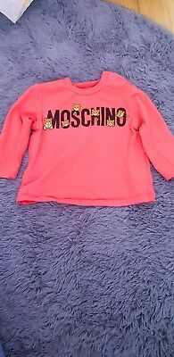 Moschino baby girl 6 to 9 month